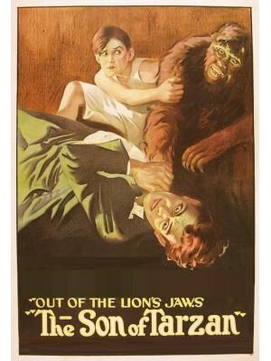 O Filho de Tarzan - O Herói das Selvas - 1920 - Duplo