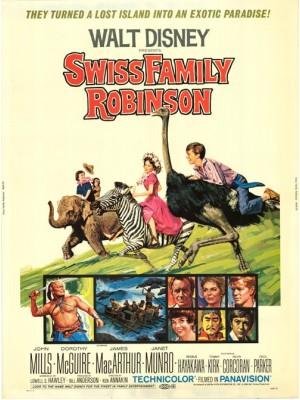 A Família Robinson | A Cidadela dos Robinsons  - 1960