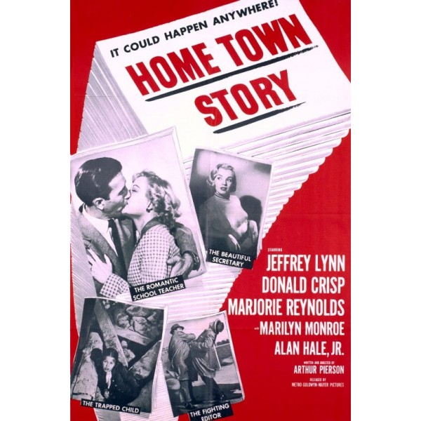 A História de Uma Cidadezinha | Em Cada lar um Romance - 1951
