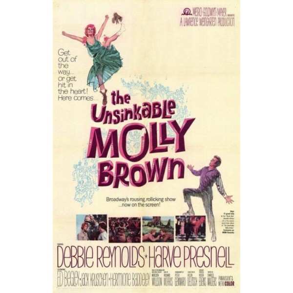 A Inconquistável Molly - 1964