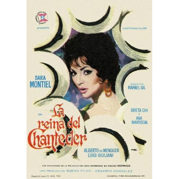 A Rainha do Chantecler - 1962