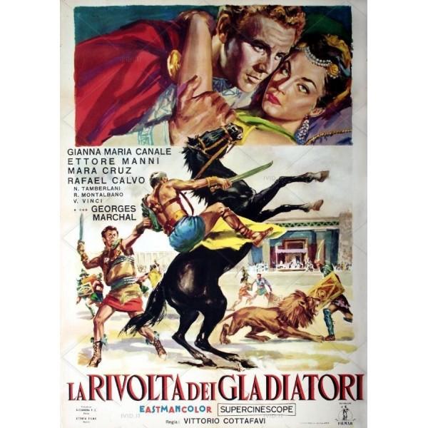 A Revolta dos Gladiadores - 1958