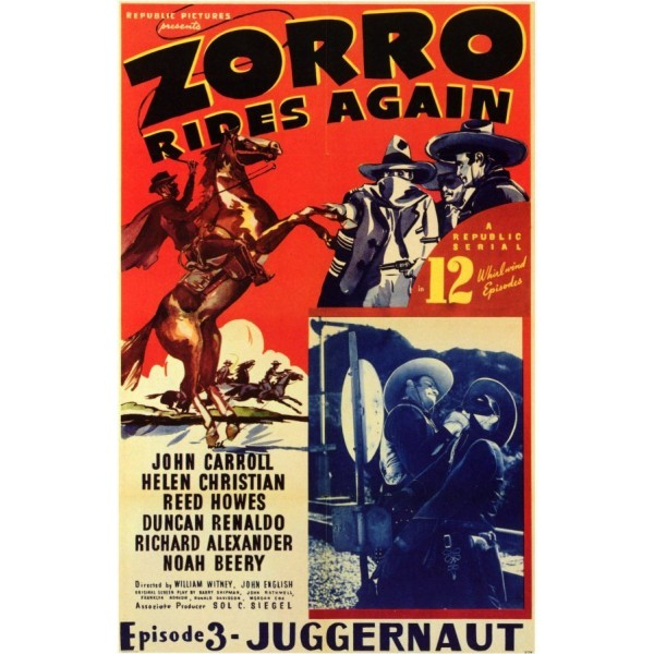 A Volta do Zorro - 1937