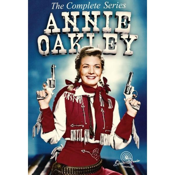 Annie Oakley  - 2 Ep - O Jovem Pistoleiro - 1956 &...