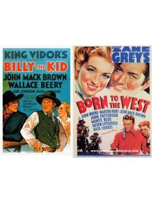 Billy the Kid - O Vingador - 1930 E Trunfos na Mesa   Jornda para o Oeste - 1937