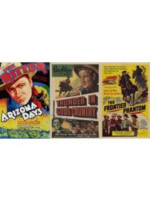 Dias de Arizona - 1937   Ardil de Jogador - 1951   O Fantasma da Fronteira - 1952