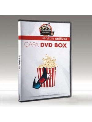Encarte para box de DVD