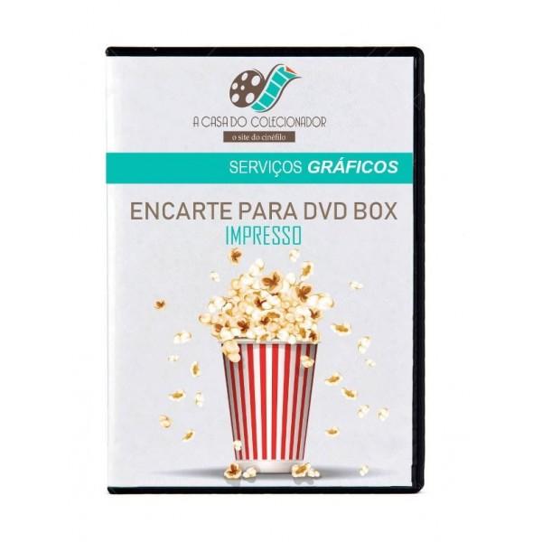 Encarte DVD Box