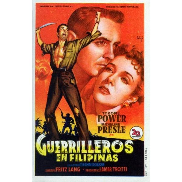 Guerrilheiros das Filipinas - 1950