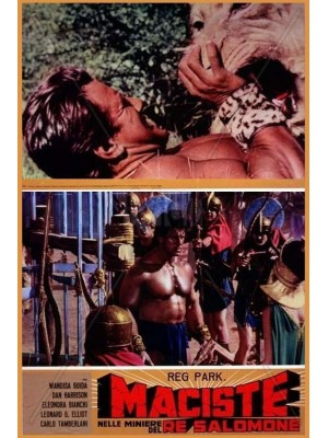 Maciste nas Minas do Rei Salomão - 1964