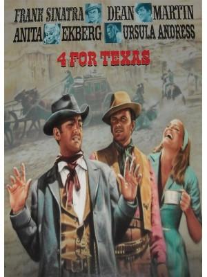 Os Quatro Heróis do Texas - 1963