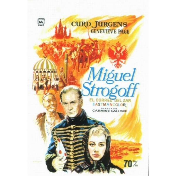 Miguel Strogoff, O Correio do Tzar - 1956