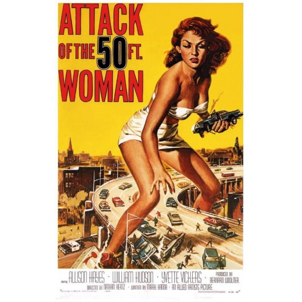 O Ataque da Mulher de 15 Metros - 1958