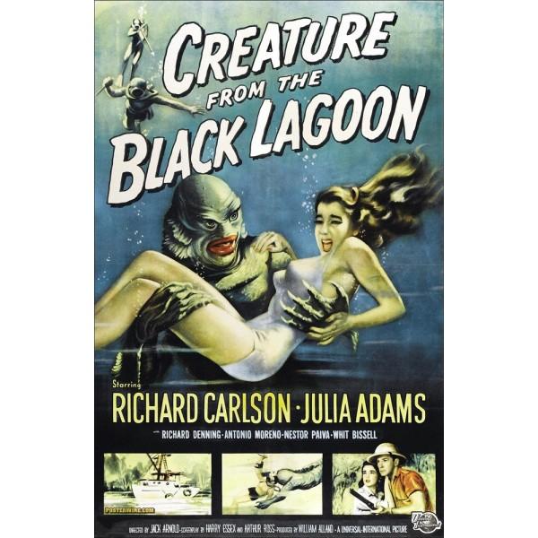 O Monstro da Lagoa Negra - 1954