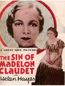 O Pecado de Madelon Claudet - 1931