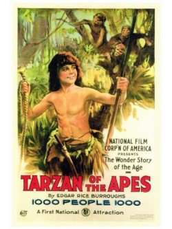 O Romance de Tarzan - Tarzan, O Homem Macaco | Tarzan dos Macacos - 1918