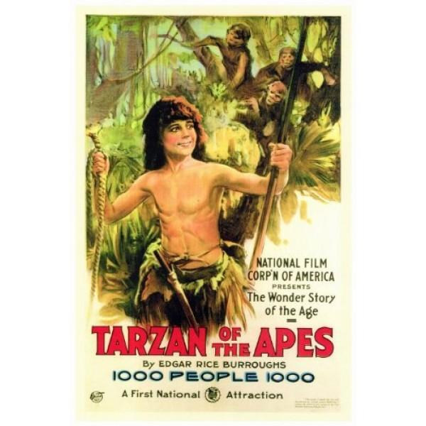 O Romance de Tarzan - Tarzan, O Homem Macaco   Tar...