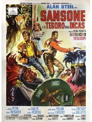 O Tesouro Perdido dos Aztecas | Sansão e o tesouro dos incas | Hércules e o Tesouro dos Incas - 1964