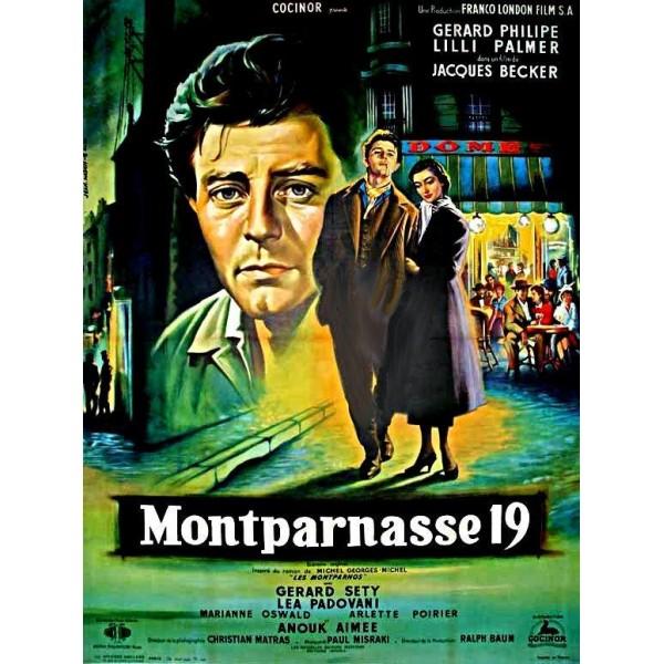 Os Amantes de Montparnasse - 1958