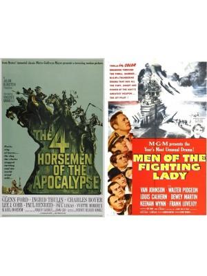 Os Quatros Cavaleiros do Apocalipse - 1962 & Esquadrão Heroico - 1954
