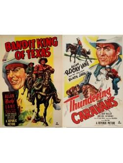 Rock Lane - Piratas da Estrada - 1949 & Povoado Assombrado - 1952 - Vol. 04