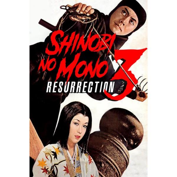 Shinobi no Mono 3 Ressurreição - 1963