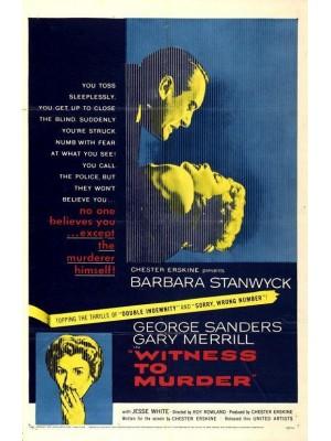 Testemunha do Crime - 1954
