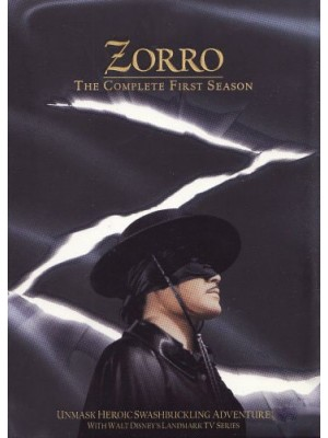 Zorro - 1ª Temporada - 1957 - 05 Discos
